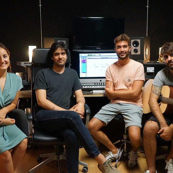 Nuredduna en estudio - Mallorca Music Magazine