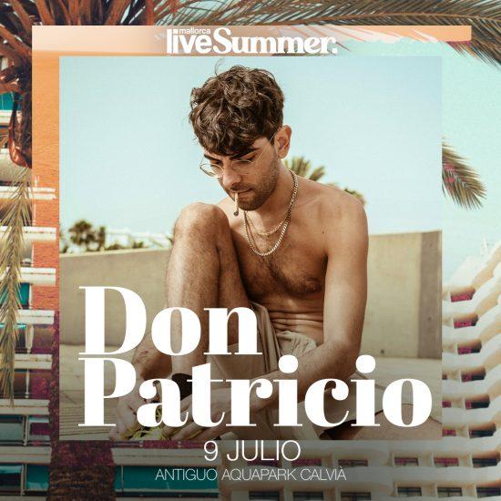 Don Patricio - Mallorca Live Summer 2021 - Mallorca Music Magazine