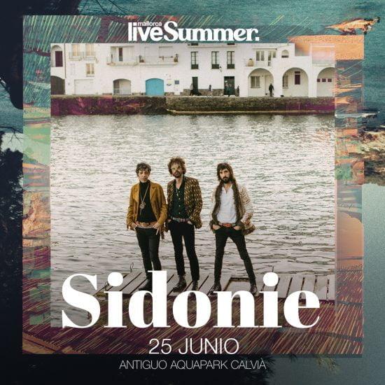 Sidonie - Mallorca Live Summer 2021 - Mallorca Music Magazine
